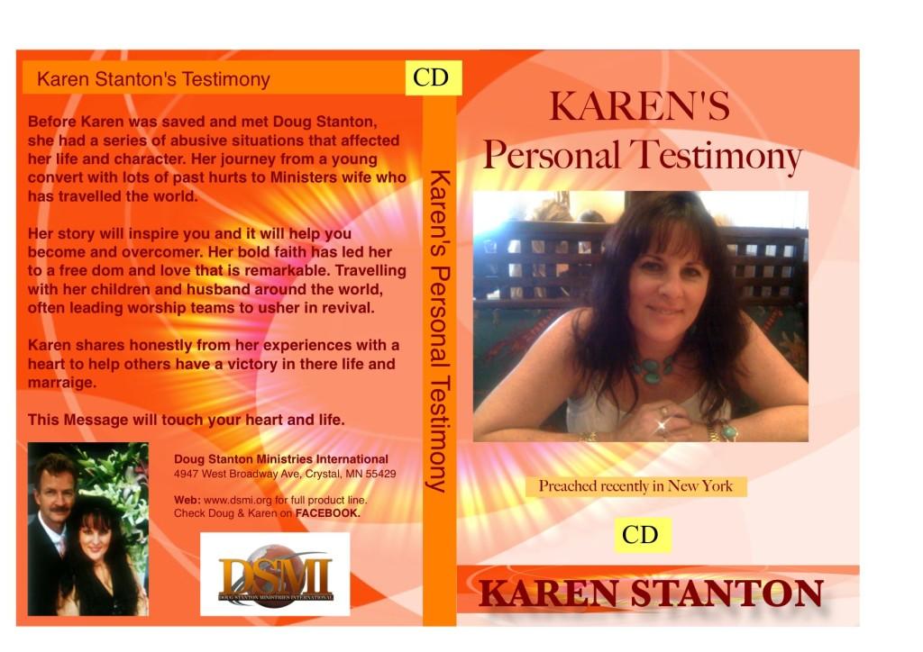 Karen Stanton Testimony