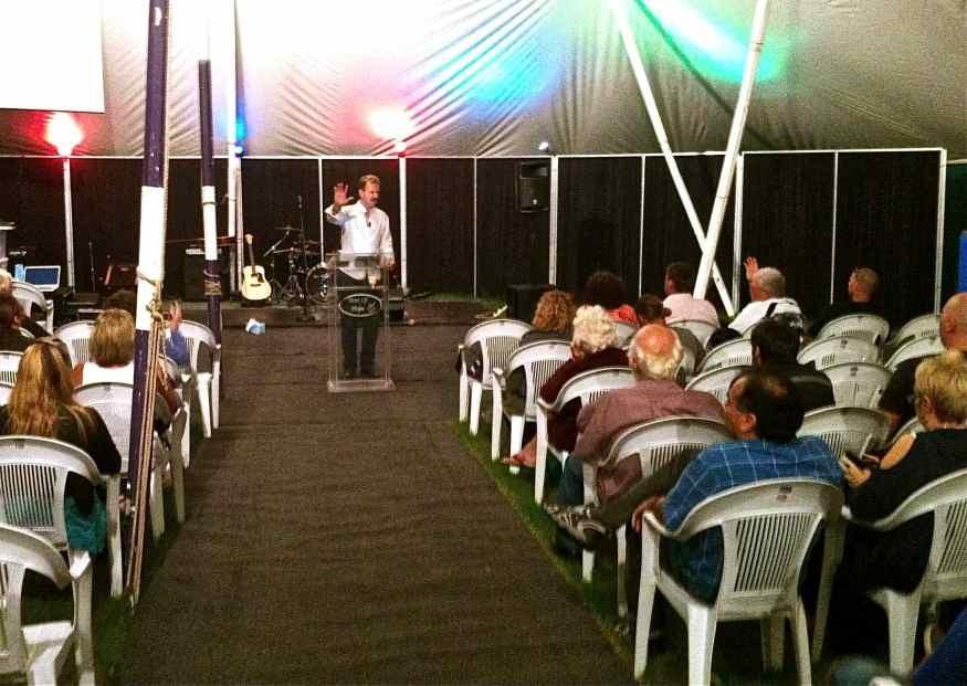 Tent Preaching