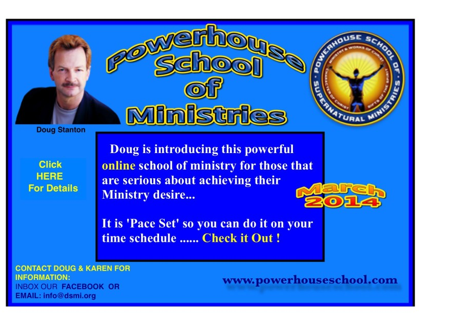 Doug's New On-Line School