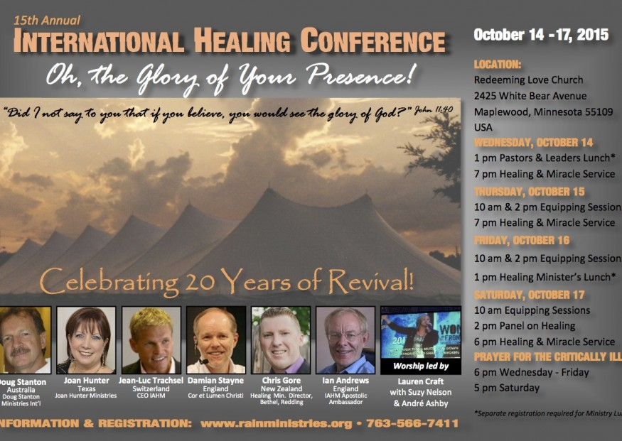 Doug is a Key Speaker and began the first revival 20 years ago.... Look at Post below.