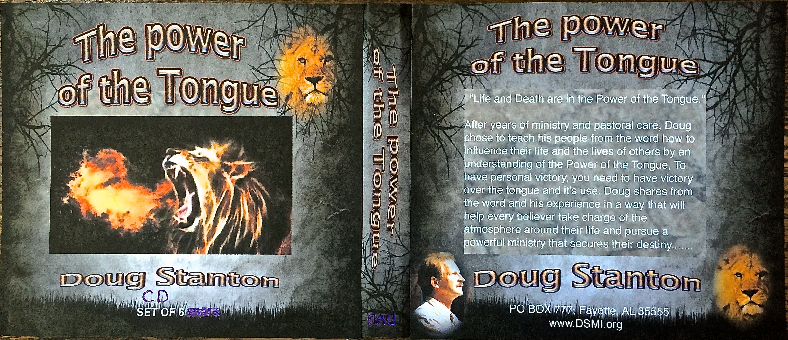 Power of the Tongue:Cover:Full:CD