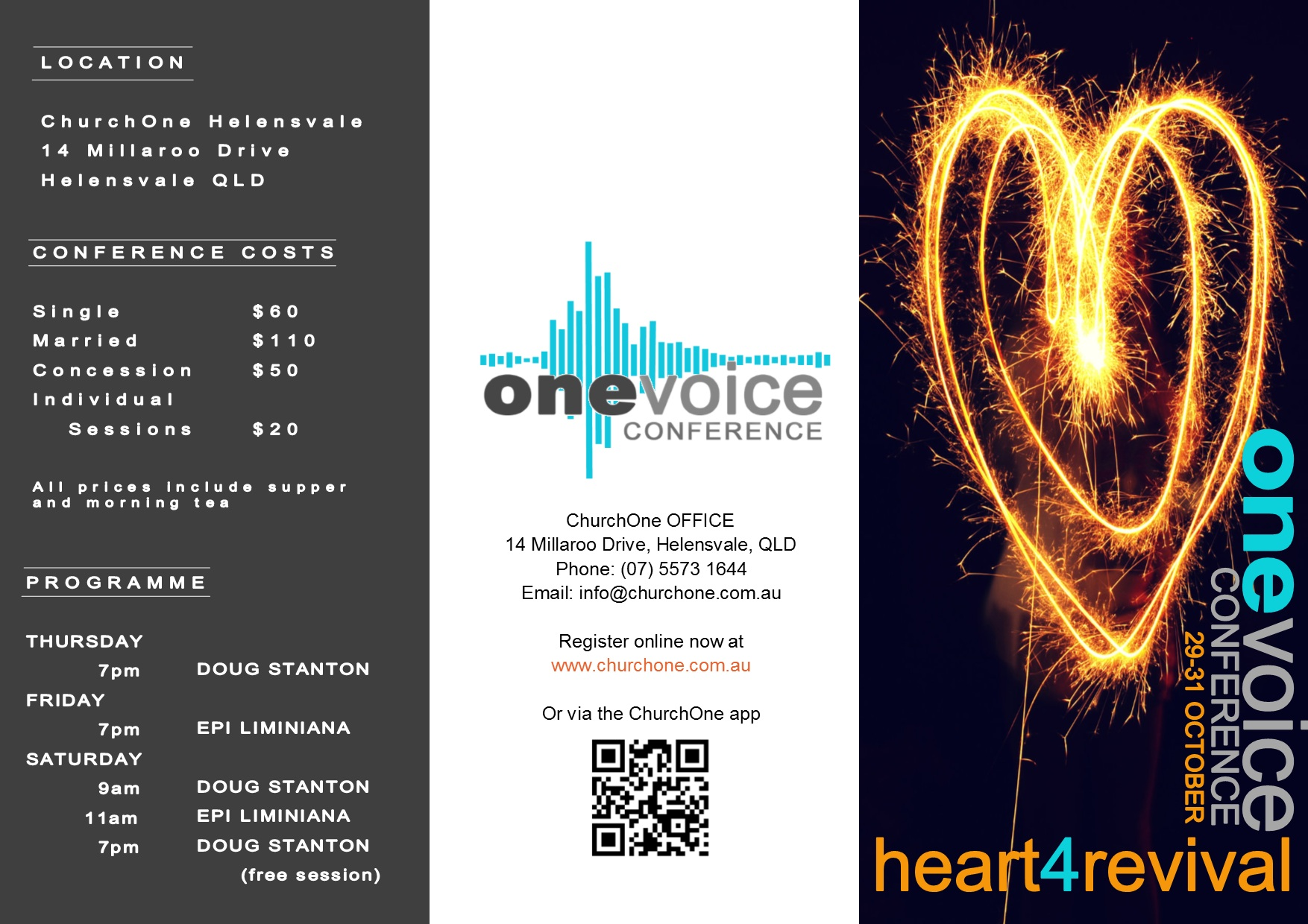 ONEvoice Brochure FRONT